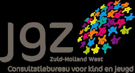 Logo JGZ, Zuid-Holland West, Consultatiebureau voor kind en jeugd